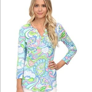 Lilly Pulitzer Conch Republic Kirby top Size Small